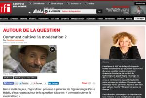 Pierre Rabhi sur RFI